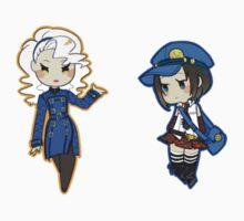 Persona 4 Velvet Room Attendants by toifshi