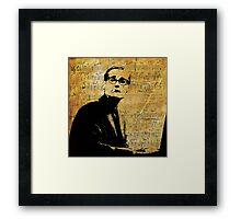 Everybody Digs Bill Evans Framed Print