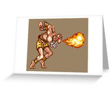 Dhalsim Greeting Card