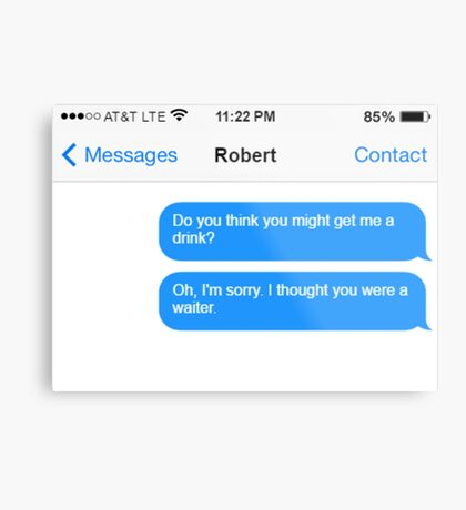 Dowager Texts: Dowager burns Robert  Metal Print