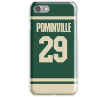 Jason Pominville Jersey iPhone Case/Skin