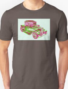 Model A Ford Pickup Hotrod Pop Art T-Shirt