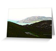 Ireland - Inishowen Peninsular, Donegal, Ireland Greeting Card