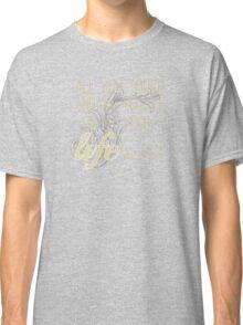 Classic Rock and Roll Floyd Music Lyrics Classic T-Shirt