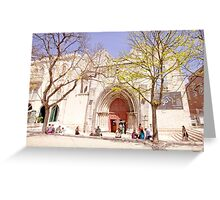 Convento do Carmo.carmo convent Greeting Card