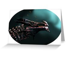 Dragon Embers Greeting Card