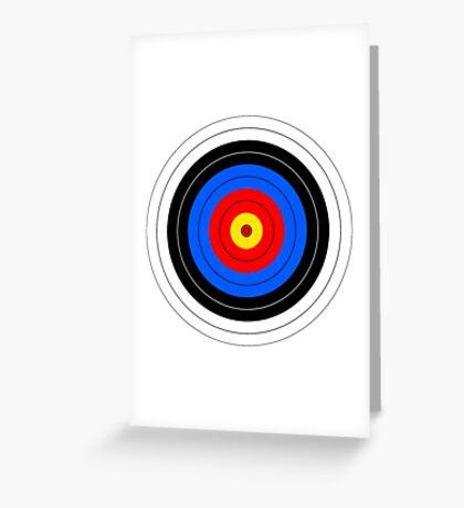 Target Greeting Card