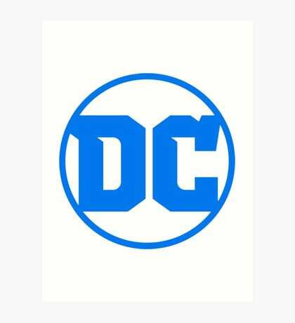 DC Comics, 2016 Edition.  Art Print