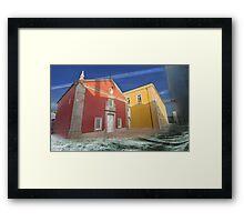 Cascais and the sea Framed Print
