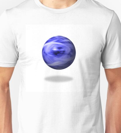 Blue Flame Globe Unisex T-Shirt
