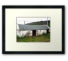 Abandoned Barn, Inishowen Peninsular, Donegal, Ireland Framed Print