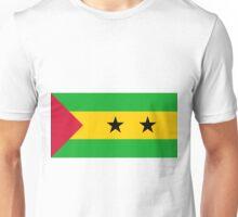 Sao Tome And Principe Flag Unisex T-Shirt
