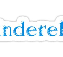 Cinderella Sticker