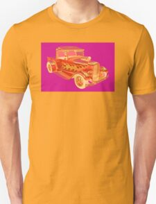 Model A Ford Pickup Hotrod Pop Image T-Shirt