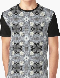 Flower Digital Garden Graphic T-Shirt