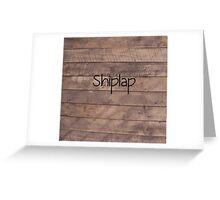 Shiplap Greeting Card