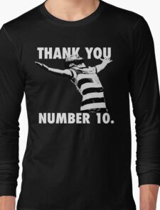 NUMBER 10 FOREVER Long Sleeve T-Shirt