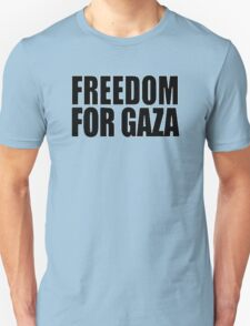 Freedom For Gaza [BLACK] T-Shirt