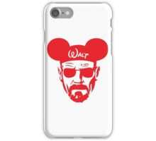 Red Walter White Mouse Ears iPhone Case/Skin