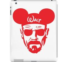 Red Walter White Mouse Ears iPad Case/Skin