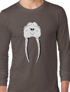 Walrus Skull - Pen Drawing Long Sleeve T-Shirt