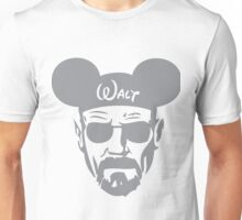 Grey Walter White Mouse Ears Unisex T-Shirt