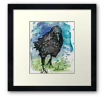 Lone Bird Framed Print