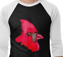Cardinal - Watercolor  Men's Baseball ¾ T-Shirt