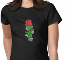 Mystic Rose Womens Fitted T-Shirt