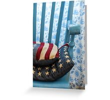 The Stars and Stripes Greeting Card