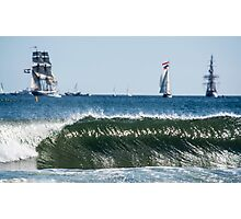 Tall Ships Regatta At Blyth Photographic Print