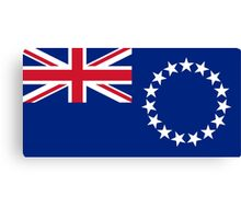 The Cook Islands Flag Canvas Print