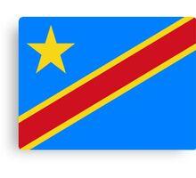 The Democratic Republic Of The Congo Canvas Print