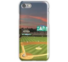 Wrigley Field at Night iPhone Case/Skin
