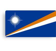 The Marshall Islands Flag Canvas Print