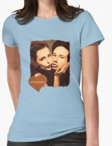 Gillian and David - The Schmoopies Womens Fitted T-Shirt