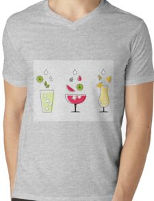 Summer Drinks! Mens V-Neck T-Shirt