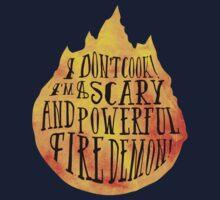 Fire Demon  Kids Tee