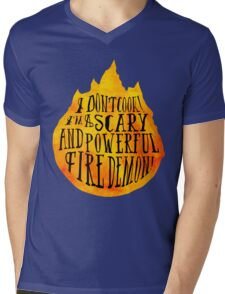 Fire Demon  Mens V-Neck T-Shirt