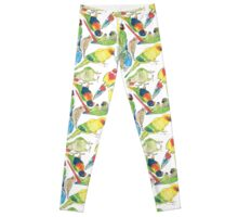 Small Watercolor Birds! Leggings