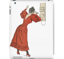 Plain Ole Vintage Telephoner iPad Case/Skin
