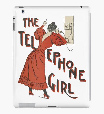 The Telephone Girl iPad Case/Skin