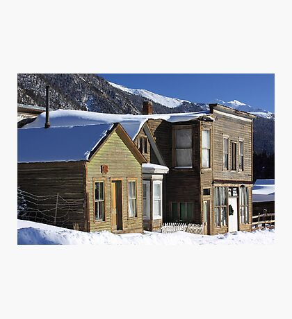 St. Elmo Ghost Town Photographic Print
