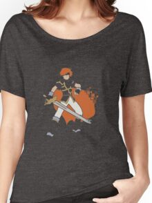 Pixel Silhouette: Marth Women's Relaxed Fit T-Shirt