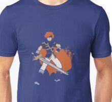 Pixel Silhouette: Marth Unisex T-Shirt