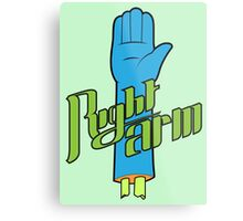 Right Arm! Metal Print