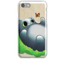 Playing cat iPhone Case/Skin