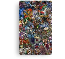 Mutant Collage Canvas Print