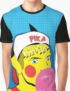 PikaBro Pop Art Graphic T-Shirt