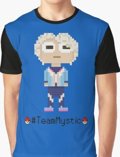 Team Mystic leader Blanche, Pixel Art Graphic T-Shirt